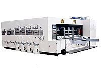 Máquina impressora flexógrafica e entalhadeira de corte e vinco XT-G